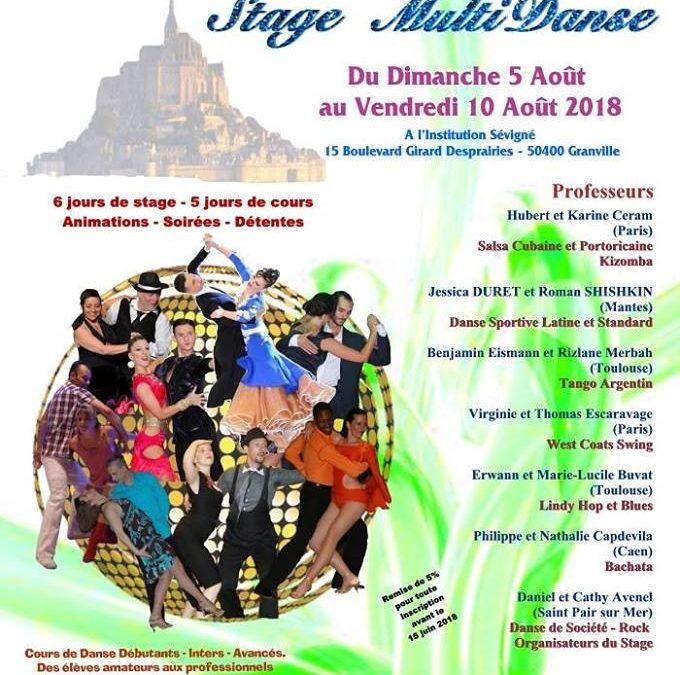 Stage Multi-Danse à Granville
