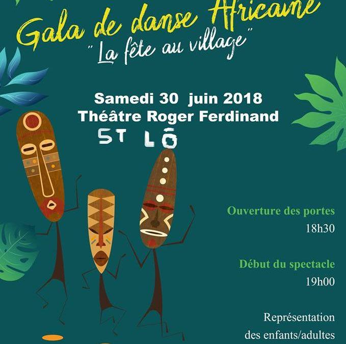 Gala de danse africaine à Saint Lô
