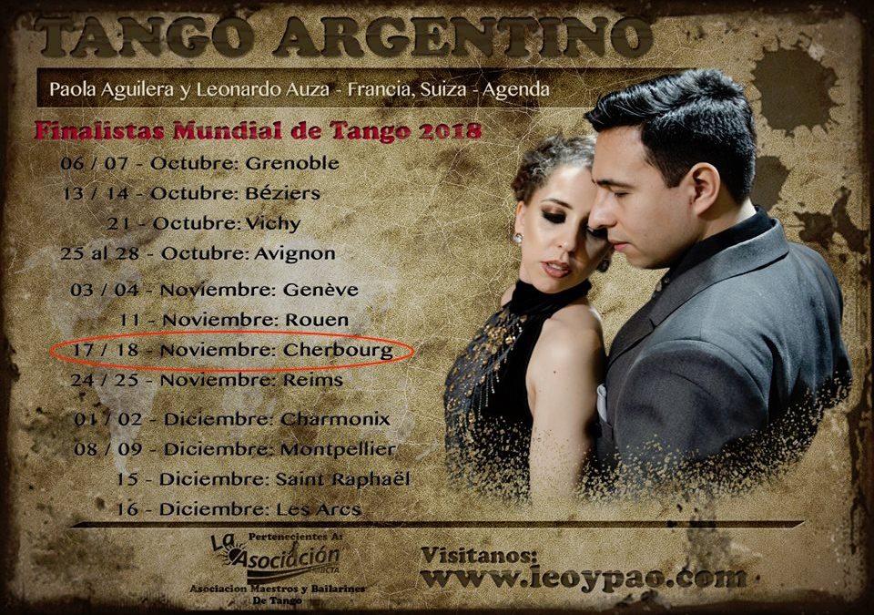 Stage de tango argentin à Cherbourg