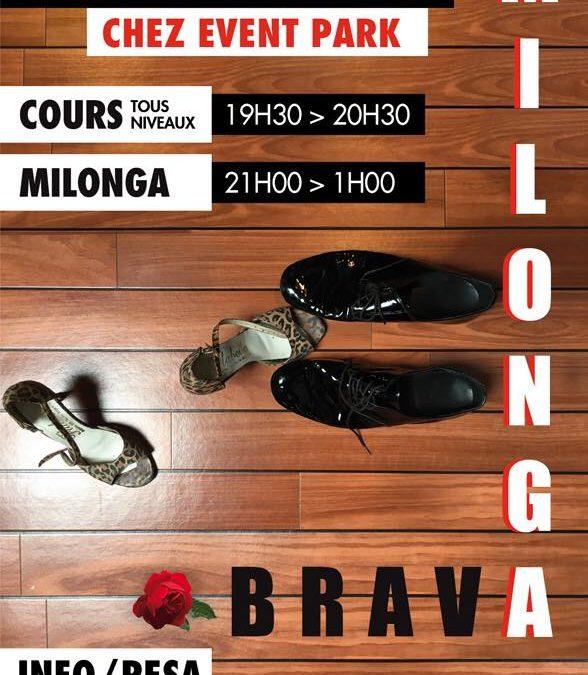 Cours et «Milonga Brava» à Ponts