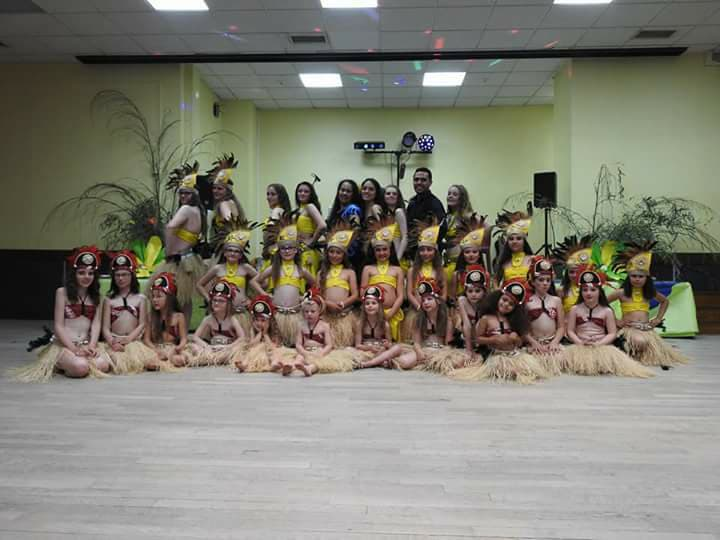 Danse tahitienne à Carneville