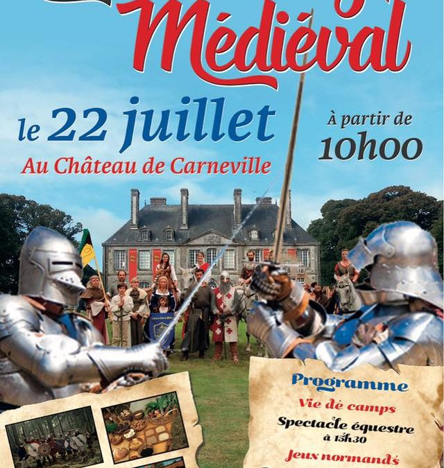 Fête de danse médiévale au château de Carneville