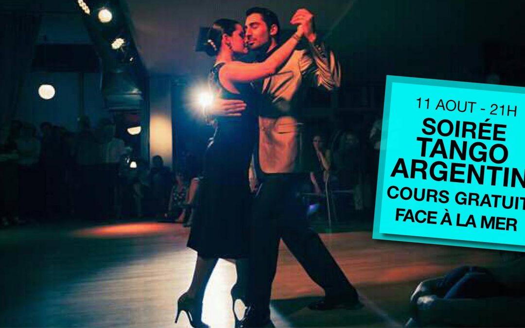 Soirée tango argentin à Saint Pair sur Mer
