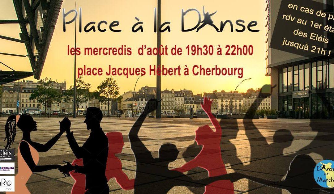Place à la danse en plein air à Cherbourg