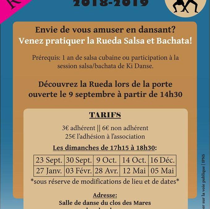 Rueda bachata / salsa à Brehal 10/10