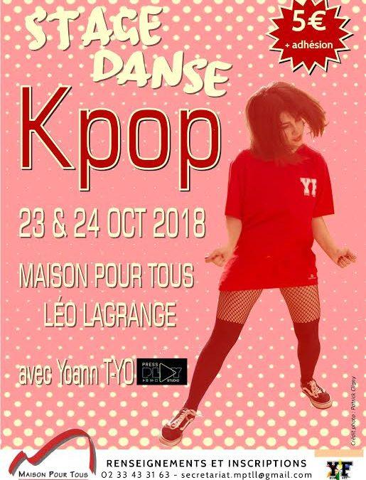 Stage de Kpop à Cherbourg