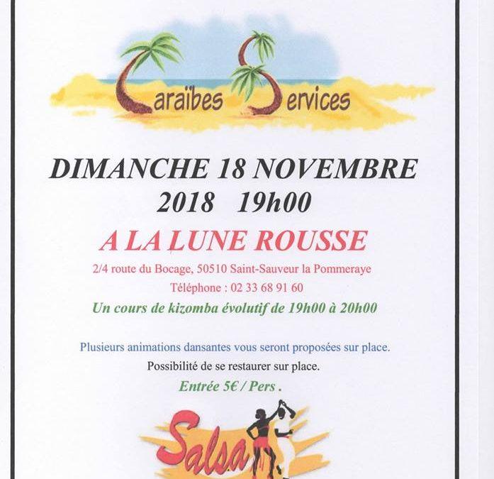 Soirée dansante à Saint Sauveur le Pommeraye