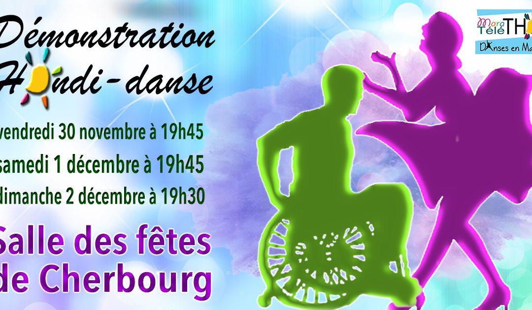 Démonstrations de danses à 2 handi-valides à Cherbourg
