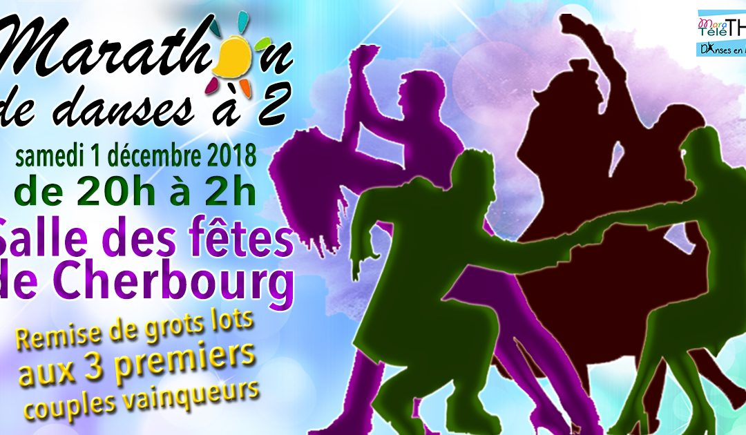 Marathon de danses à deux à Cherbourg
