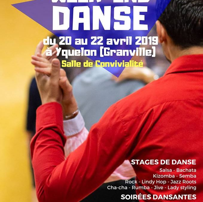 Week-end multi-danse du 20 au 22 avril à Yquelon