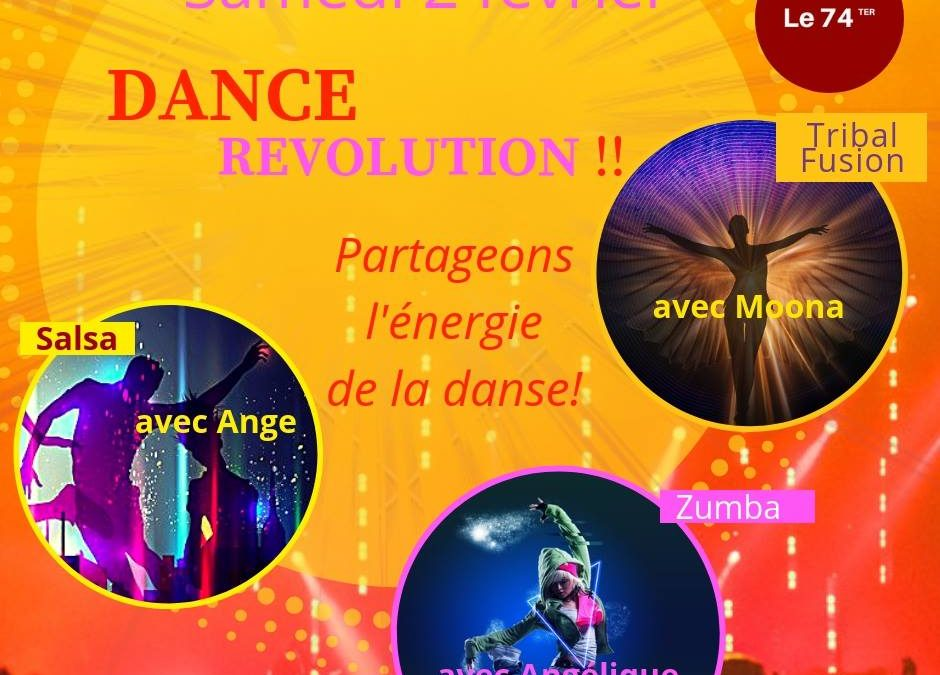 Dance revolution à Cherbourg