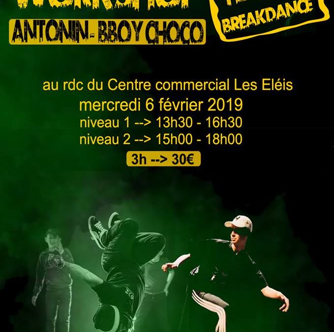 Workshop Hip-Hop / Breakdance
