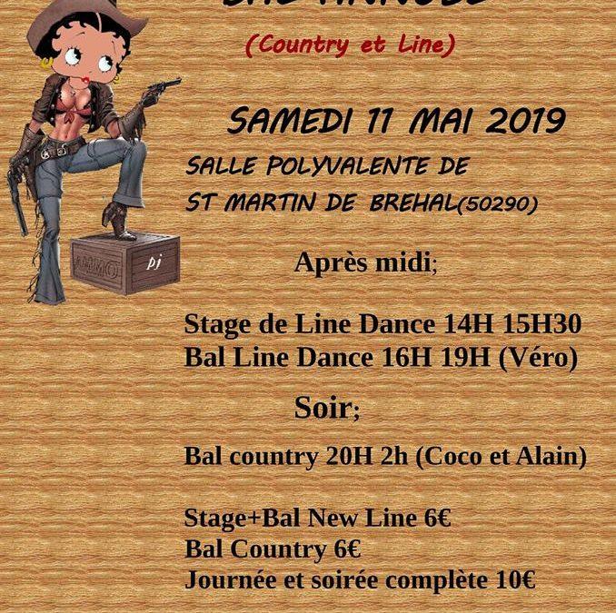 Bal country et line à Bréhal