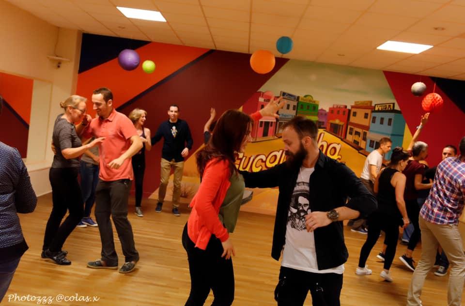 Stage de salsa, bachata, suelta à Cherbourg