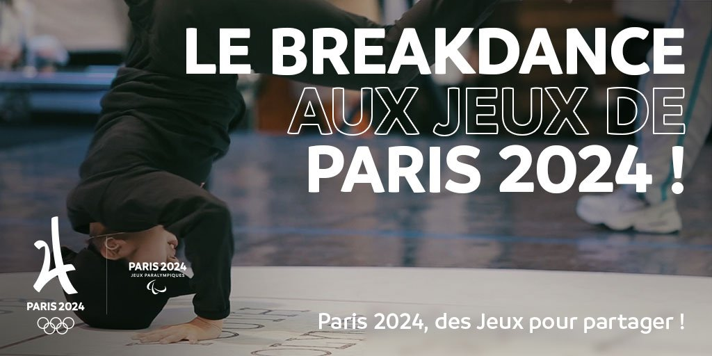 Le breakdance aux JO 2024 de Paris ?!
