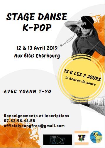 Stage de K-Pop à Cherbourg COMPLET