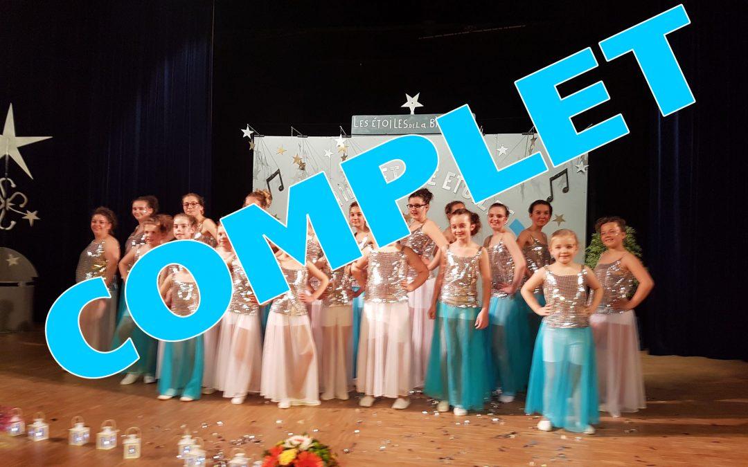Spectacle de danse de fin d'année à Flamanville