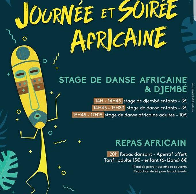 Journée et soirée africaine à Baudre