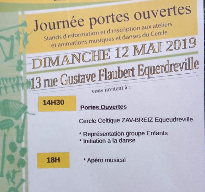 Portes ouvertes danse bretonne à Equeurdreville