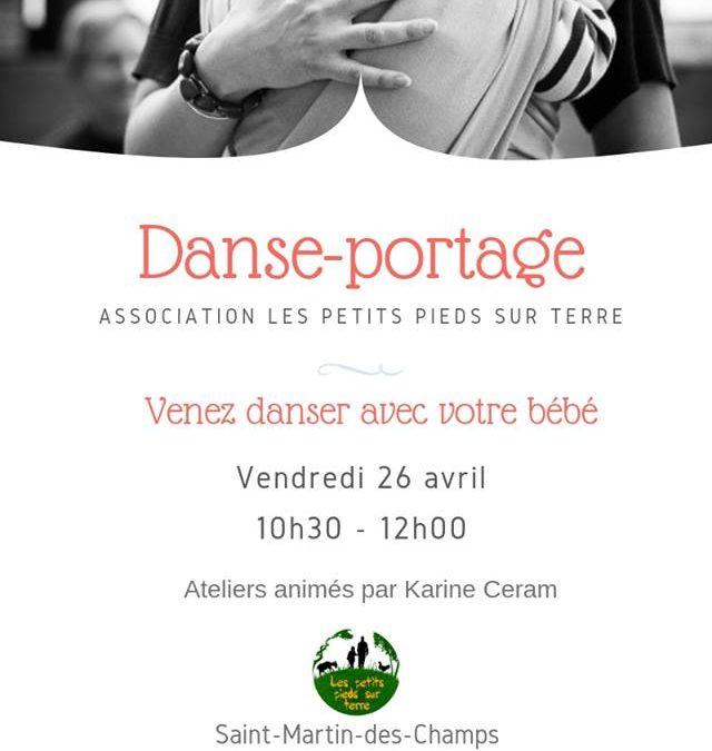 Atelier Danse-portage à Saint-Martin-des-Champs