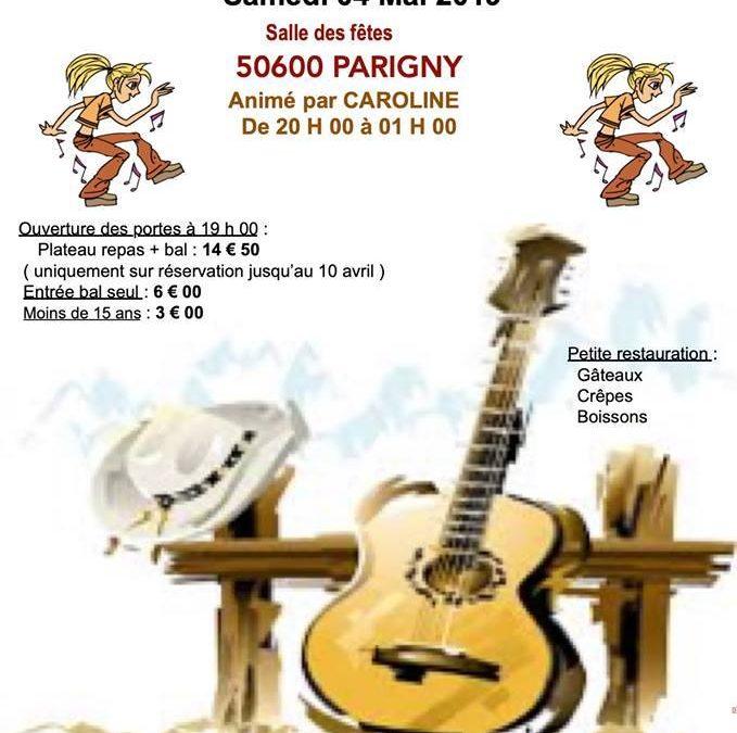Bal country à Parigny