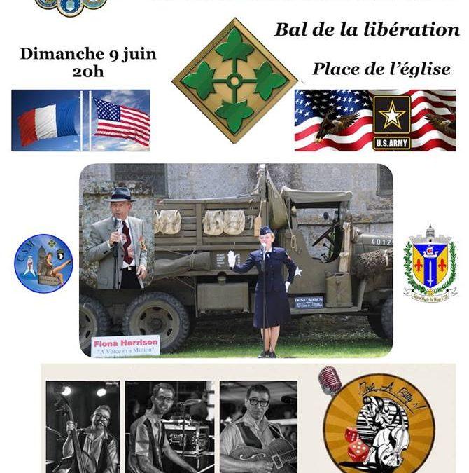 Bal de la libération à Sainte-Marie-du-Mont