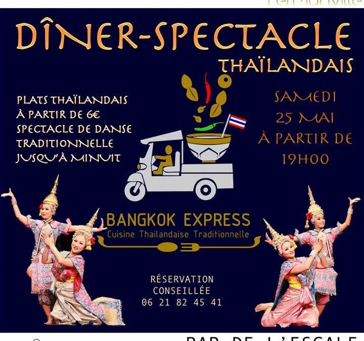 Dîner-spectacle thaïlandais à Fermanville