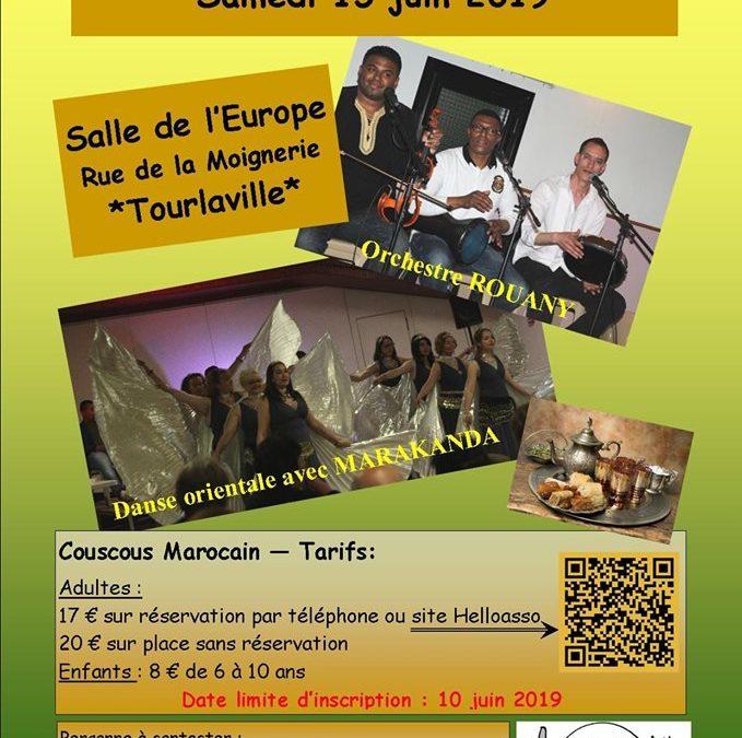 Dîner-spectacle marocain à Tourlaville