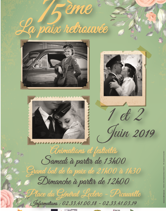 Grand bal de la Paix à Picauville