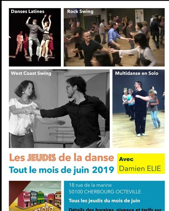 Les jeudis de la danse en juin à Cherbourg