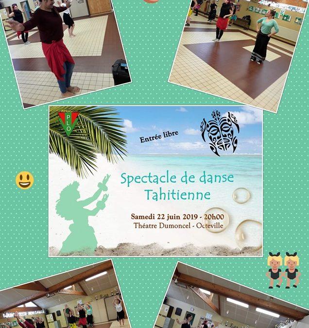 Danse tahitienne à Octeville