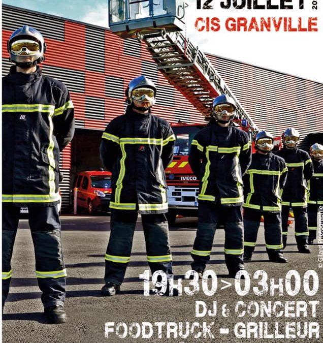 Bal des pompiers de Granville à Yquelon