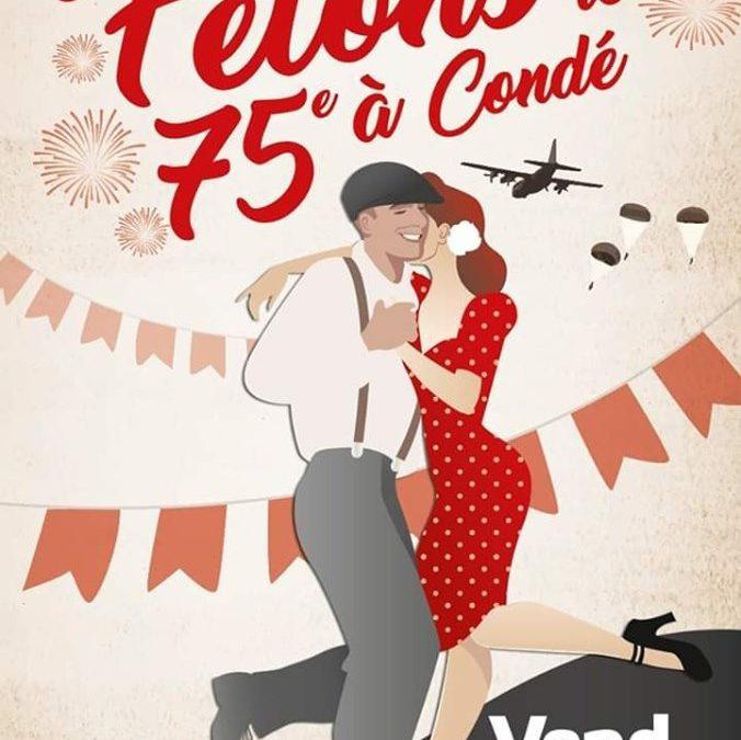 75ème : bal à Condé-sur-Vire