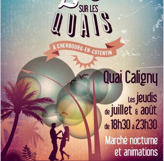 Animation dansante à Cherbourg