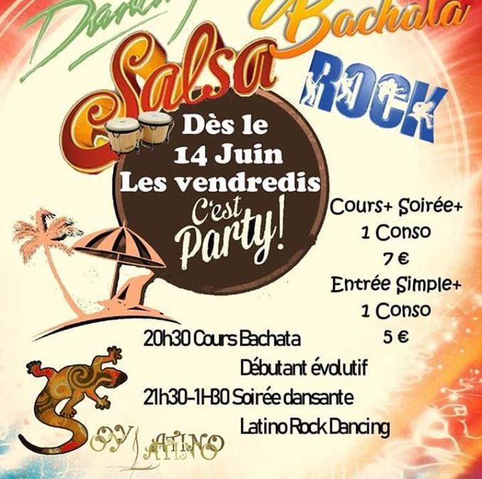 Soirée latino / rock / dancing à Cherbourg