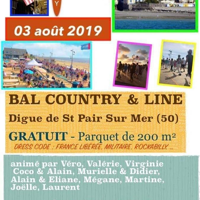 Bal country & line à Saint-Pair-sur-Mer