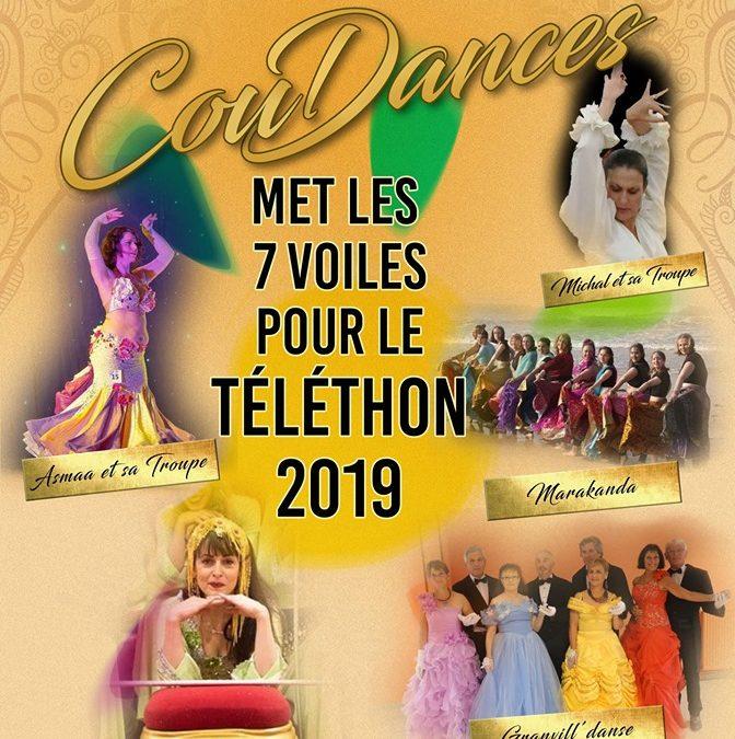 Spectacle de danses pour le Téléthon à Coutances