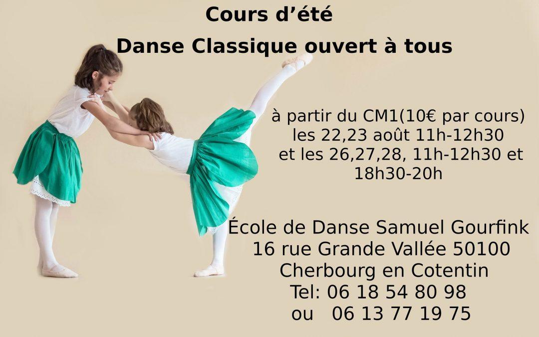 Cours de danse classique à Cherbourg