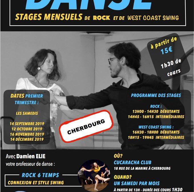 Stage de danse à Cherbourg