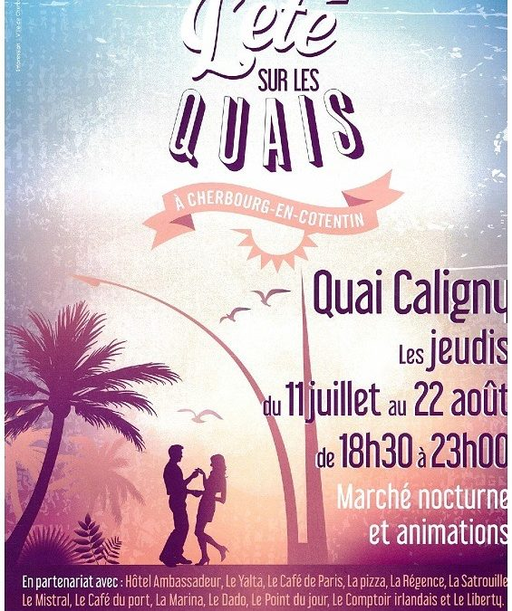 Animations dansantes à Cherbourg
