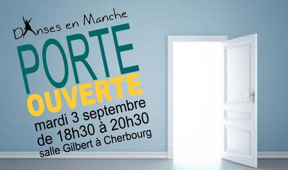 Porte ouverte à Cherbourg