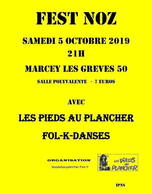 Fest Noz à Marcey-les-Grèves
