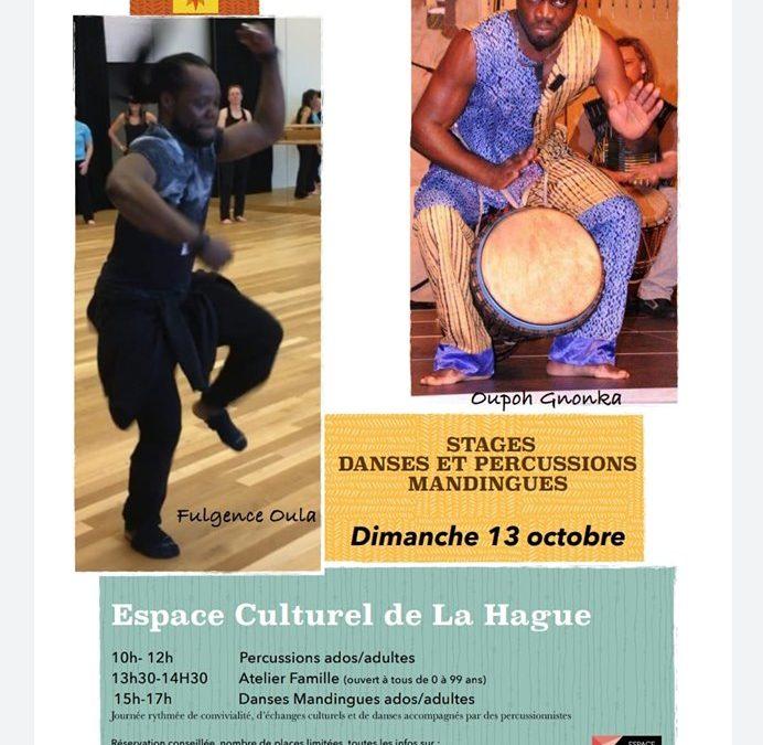 Stage danse africaine et percussions à Beaumont-Hague