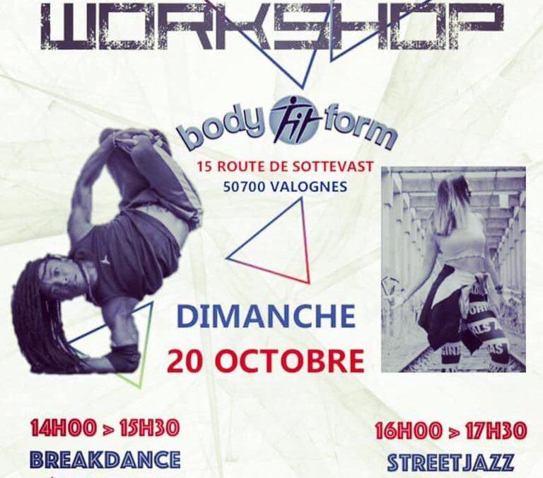 Workshop Street Dance à Valognes