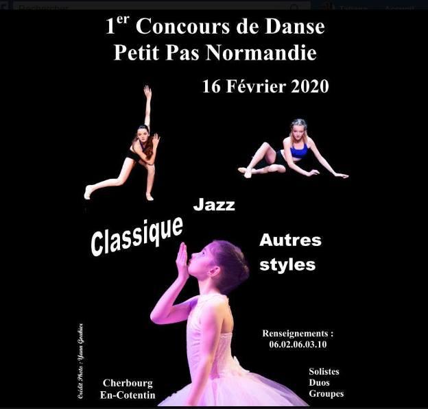 Concours de danse à Cherbourg