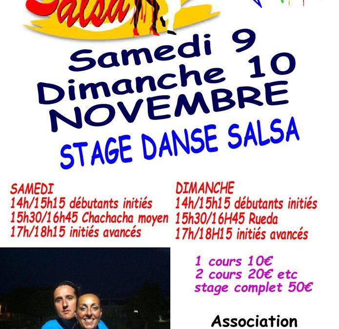 Stage de salsa à Bréhal