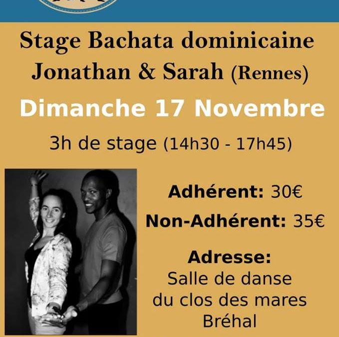 Stage de bachata à Bréhal