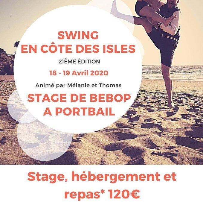 Stage de rock be-bop à Portbail