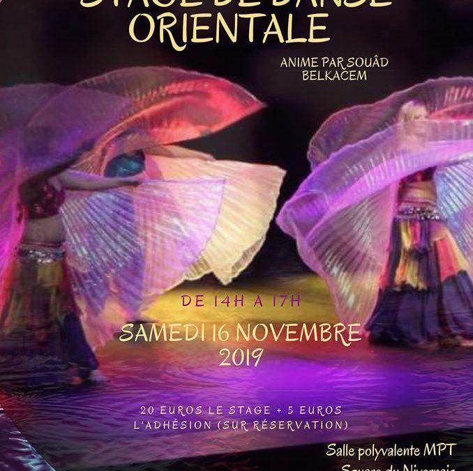 Stage de danse orientale à Cherbourg