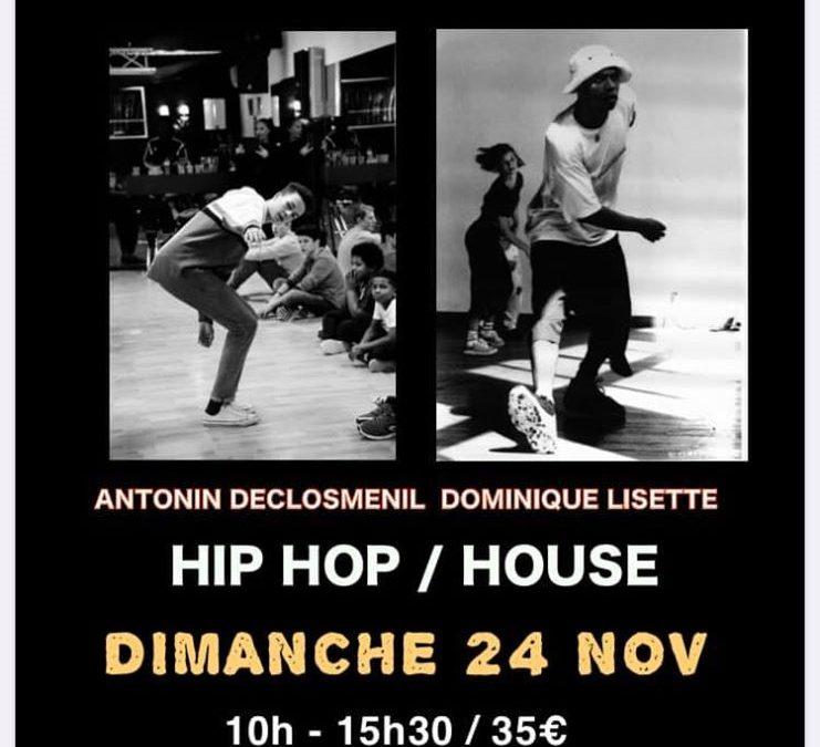 Whorkshop hip-hop / house à Saint Lô